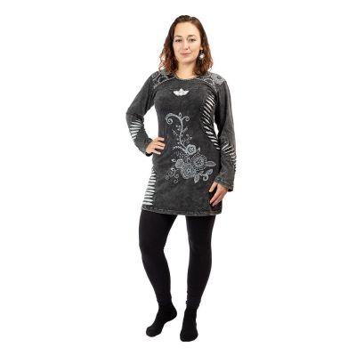 Bavlnené etno šaty Gavya Hitam | S, M, L, XL, XXL