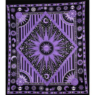 Prikrývka Vesmír - fialový 2