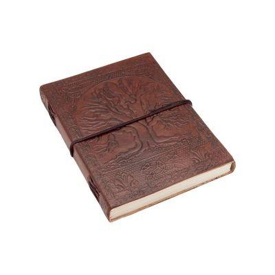 Kožený zápisník Strom života | mini , malý