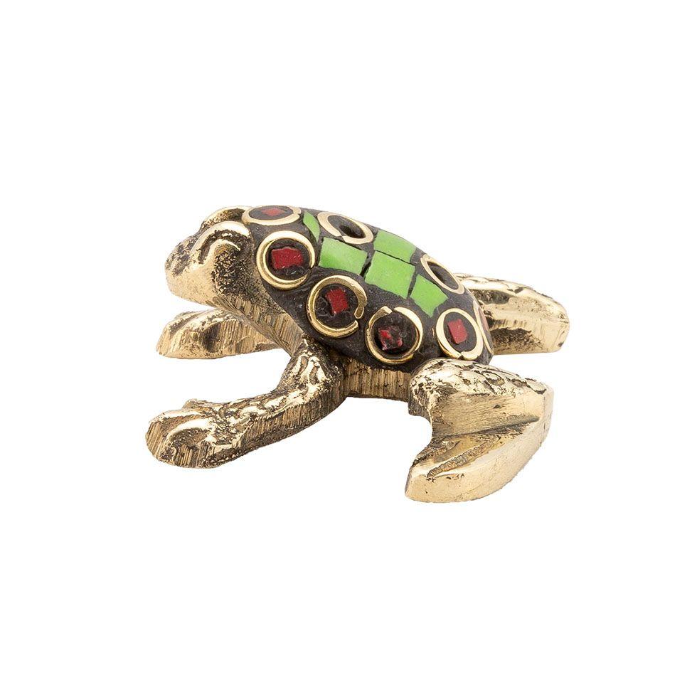 Stojan na vonné tyčinky Zdobená žabka 1 India