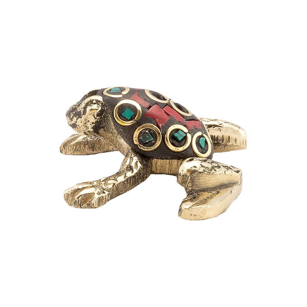 Stojan na vonné tyčinky Zdobená žabka 3 India