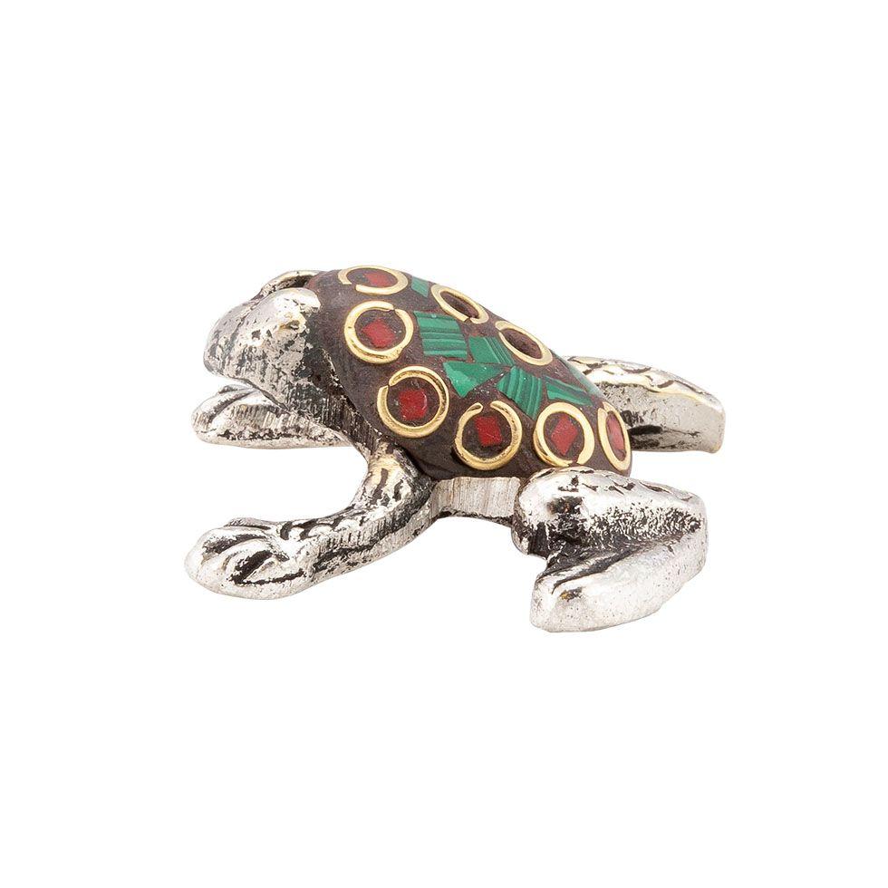 Stojan na vonné tyčinky Zdobená žabka 4 India
