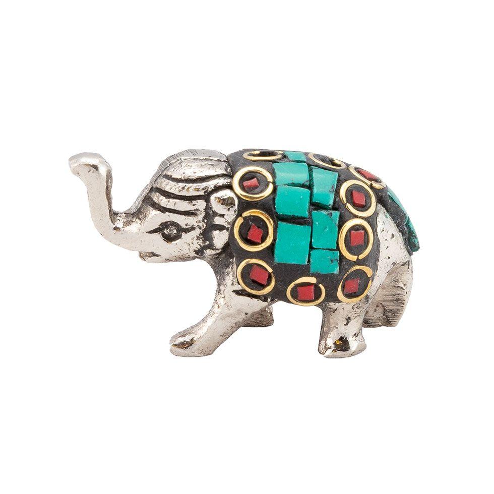 Stojan na vonné tyčinky Zdobené sloníča 2 India