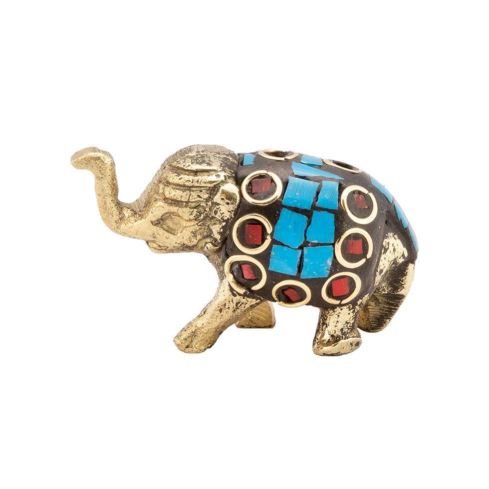 Stojan na vonné tyčinky Zdobené sloníča 4 India