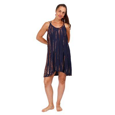 Batikované šaty Gajra Dark Grey   UNI