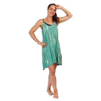 Batikované šaty Gajra Mint   UNI