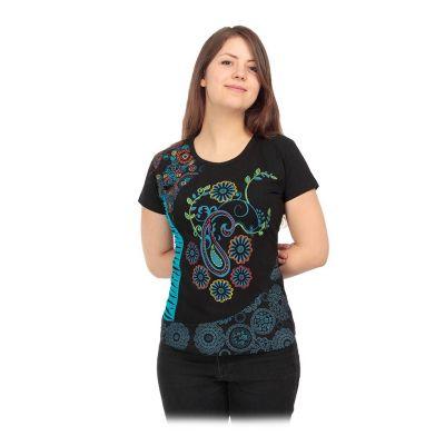 Dámske etno tričko s krátkym rukávom Maridah | S, M, L, XL, XXL
