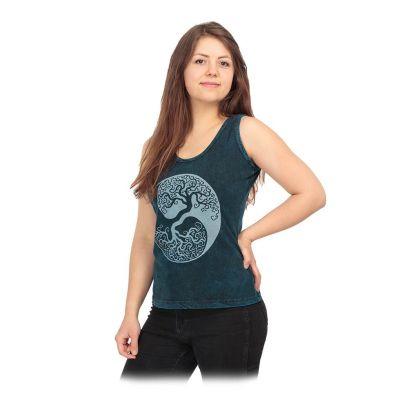 Dámske tielko Yin&Yang Tree Blue | S, M, L, XL, XXL