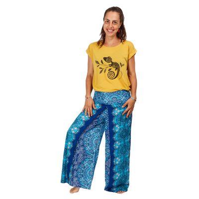 Dámske tričko s krátkym rukávom Darika Chameleon Yellow Thailand