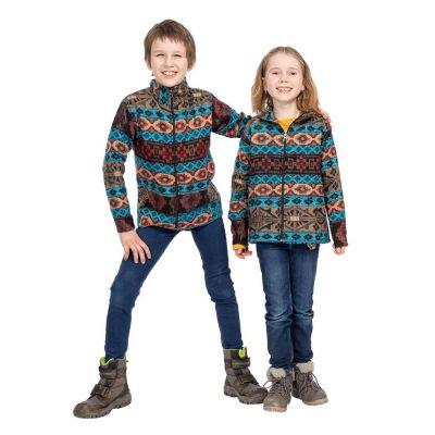 Detská etno mikina Sanjona Biru | 2 - 4 roky, 4 - 6 rokov, 6 - 8 rokov, 8 - 10 rokov, 10 - 12 rokov