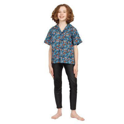 """Detská """"havajská košeľa"""" Blue Sea India"""