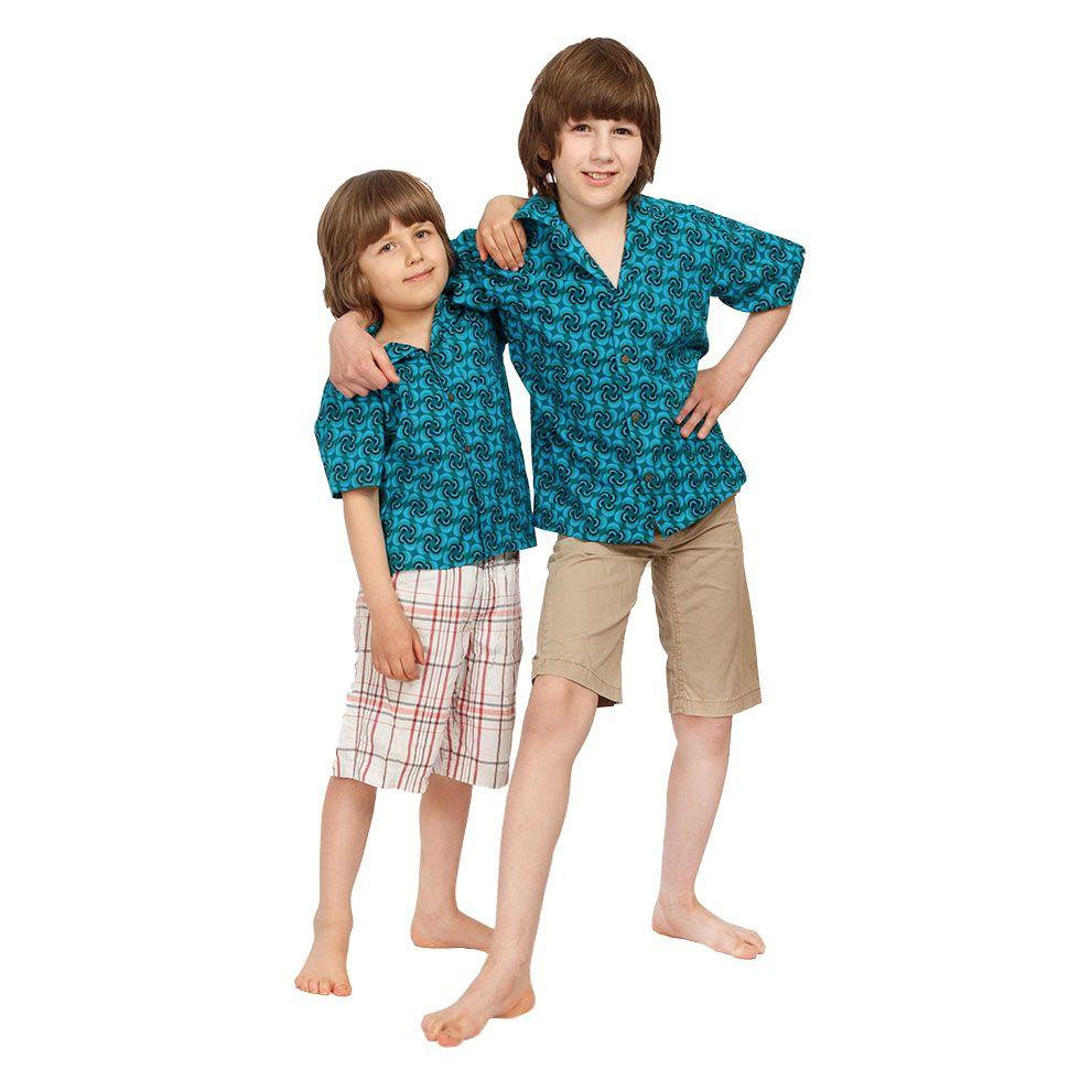 "Detská ""havajská košeľa"" Nihoa India"
