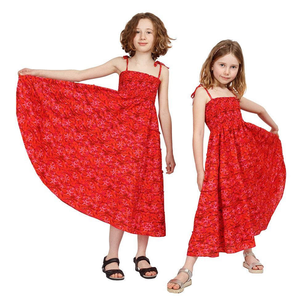 Detské šaty Mawar Red Sea