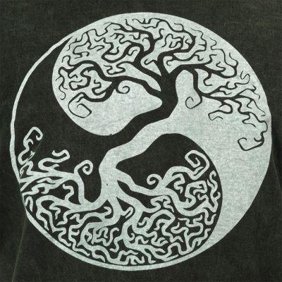 Pánske tričko Yin&Yang Tree Green Nepal