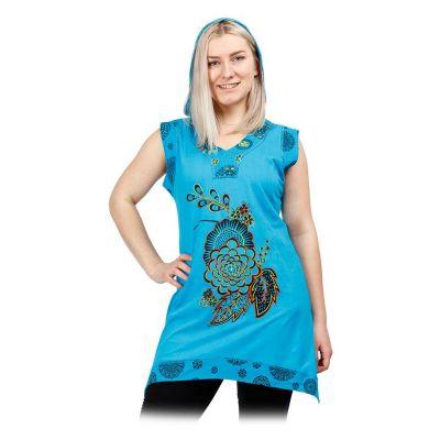 Šaty / Tunika s kapucňou Tamanna | S, M, L, XL, XXL