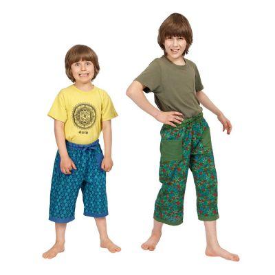 Trojštvrťové bavlnené nohavice Starfish India