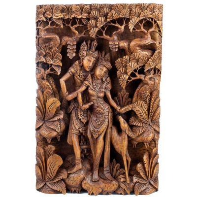 Drevorezba Ráma, Sita a zlatý srnec Marich