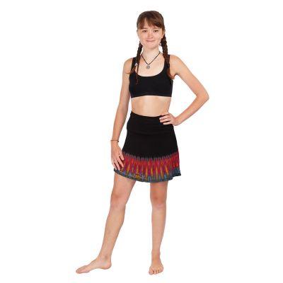 Batikovaná mini sukne Gamon Berhasil | UNI (zodpovedá S/M)