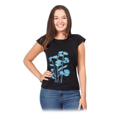 Dámske etno tričko s krátkym rukávom Bayou | S, M, L, XL, XXL