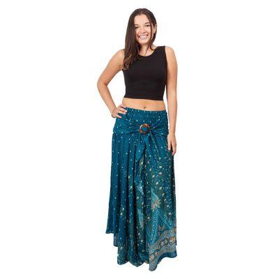 Dlhá sukňa s kokosovou sponou Kelapa Djamila | UNI