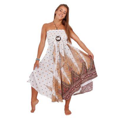 Dlhá sukňa s kokosovou sponou Kelapa Zahra | UNI