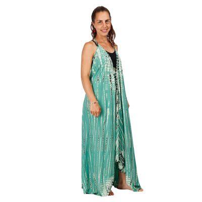 Dlhé batikované šaty Tripta Mint   UNI