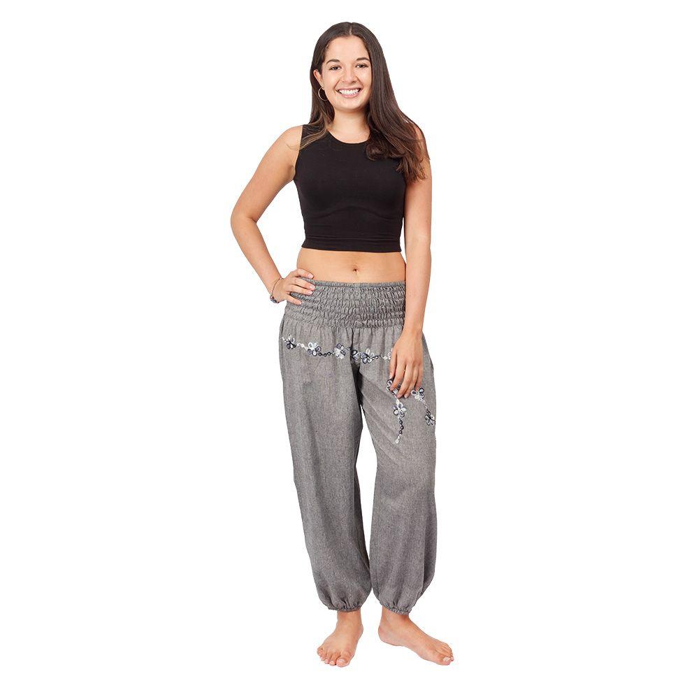 Turecké nohavice s výšivkou Sabuk Kelabu Nepal