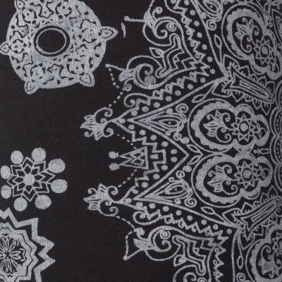 Legíny s potlačou Mandala Black Nepal