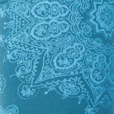 Legíny s potlačou Mandala Petrol Blue Nepal