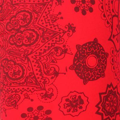 Legíny s potlačou Mandala Red Nepal