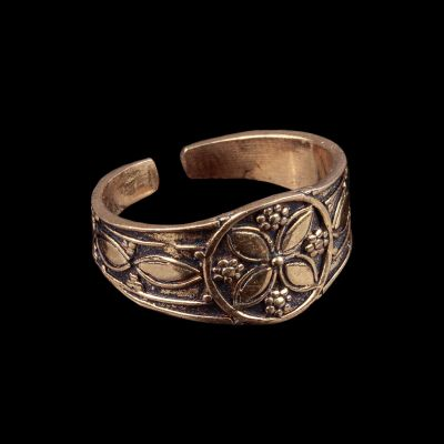 Mosadzný prsteň Aisha