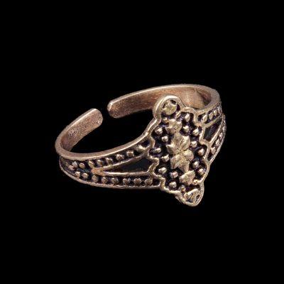 Mosadzný prsteň Salima
