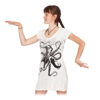 Šaty (tunika) Sure Octopus White | S, M, L, XL, XXL