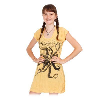 Šaty (tunika) Sure Octopus Yellow | S, M, L, XL, XXL