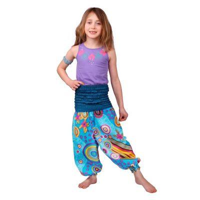 Detské nohavice Turquoise Fairy | 3 - 4 roky, 4 - 6 rokov