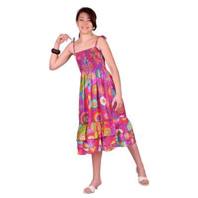 Detské šaty Mawar Pink | 3 - 4 roky, 4 - 6 rokov, 6 - 8 rokov, 8 - 10 rokov