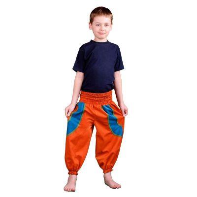 Detské nohavice Atau Jeruk | 3 - 4 roky, 4 - 6 rokov, 6 - 8 rokov, 8 - 10 rokov