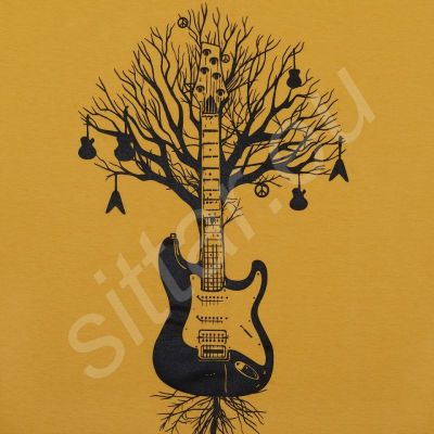 Tričko Guitar Tree | S