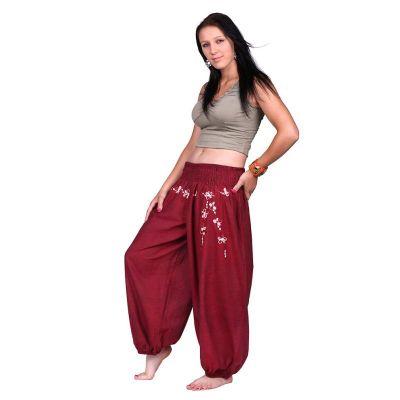 Turecké nohavice s výšivkou Sabuk Merun | S/M, L/XL