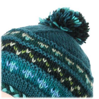 Vlnená čiapka Annapurna Turquoise