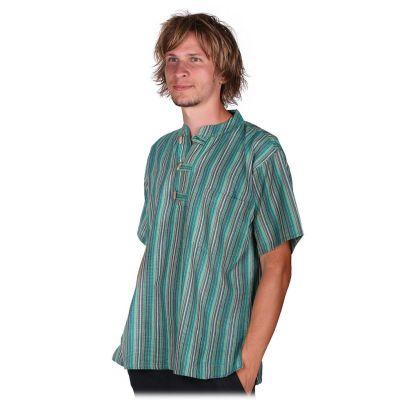 Kurta Pendek Harris - pánska košeľa s krátkym rukávom | S, M, L, XL, XXL, XXXL