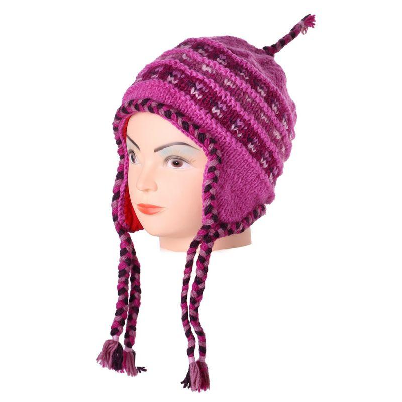 Vlnená čiapka Annapurna Pink