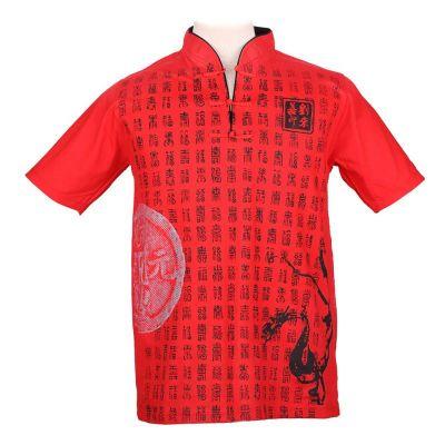Pánske tričko Emperor Pinyin Red | M, L, XL