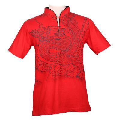 Pánske tričko Emperor Dragon Red | M