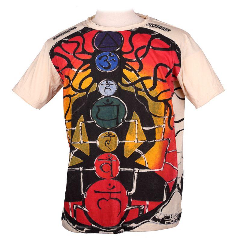 Tričko značky Mirror - Meditation