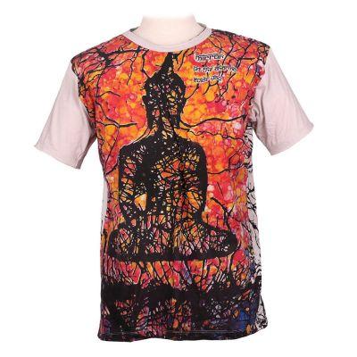 Tričko značky Mirror - Buddha | M, L, XL