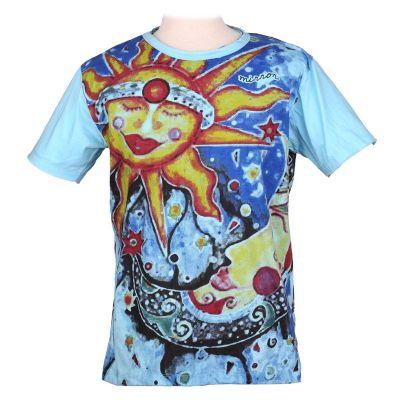 Tričko značky Mirror - Sun&Moon | M, L, XL