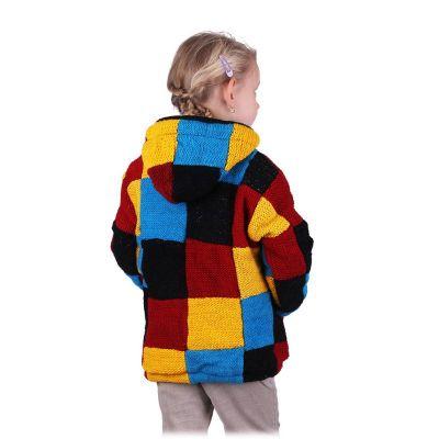 Vlnený sveter Colour Cubes