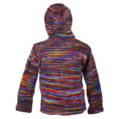 Vlnený sveter Rainbow Shine Nepal