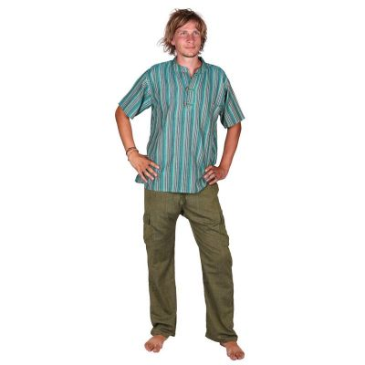 Pánske bavlnené nohavice Saku Hijau Nepal